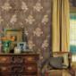 领绣刺绣墙布-都市米兰S50875
